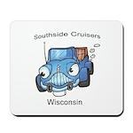 Southside cruisers logo Mousepad