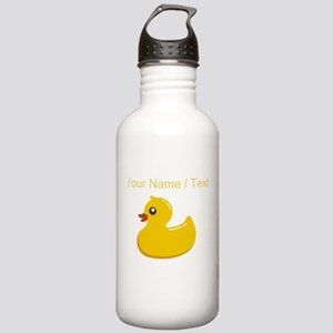 Custom Rubber Duck Water Bottle