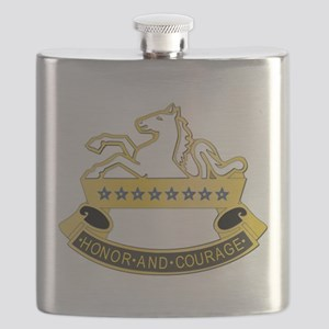 DUI - 8th Cavalry Regiment,6th Squadron Flask