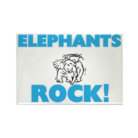 Elephants rock! Magnets