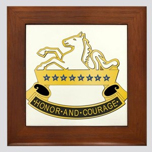 DUI - 8th Cavalry Regiment,6th Squadron Framed Til