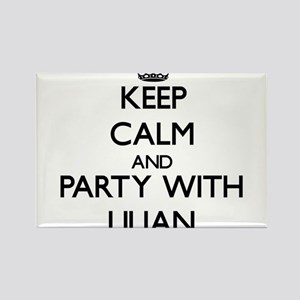 Keep Calm and Party with Lilian Magnets