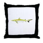Atlantic Weasel Shark Throw Pillow