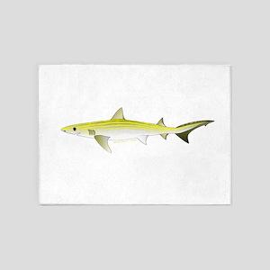 Atlantic Weasel Shark 5'x7'Area Rug