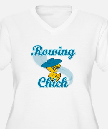 Rowing Chick #3 T-Shirt