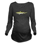 Atlantic Weasel Shark c Long Sleeve Maternity T-Sh