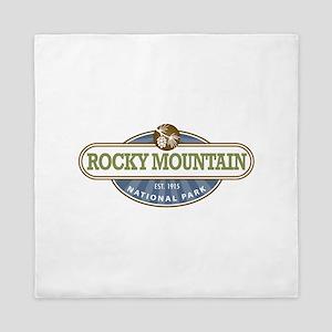 Rocky Mountain National Park Queen Duvet