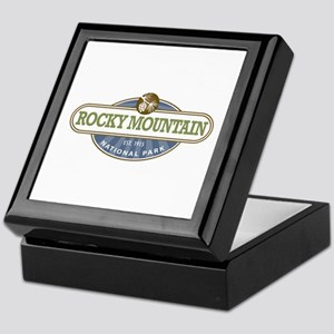 Rocky Mountain National Park Keepsake Box
