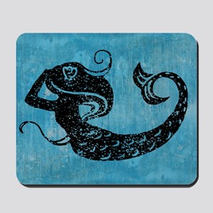 mermaid-worn_12x18 Mousepad