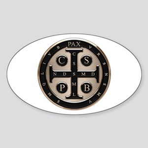 St. Benedict Medal Sticker