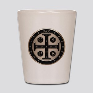 St. Benedict Medal Shot Glass