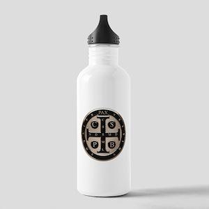 St. Benedict Medal Water Bottle
