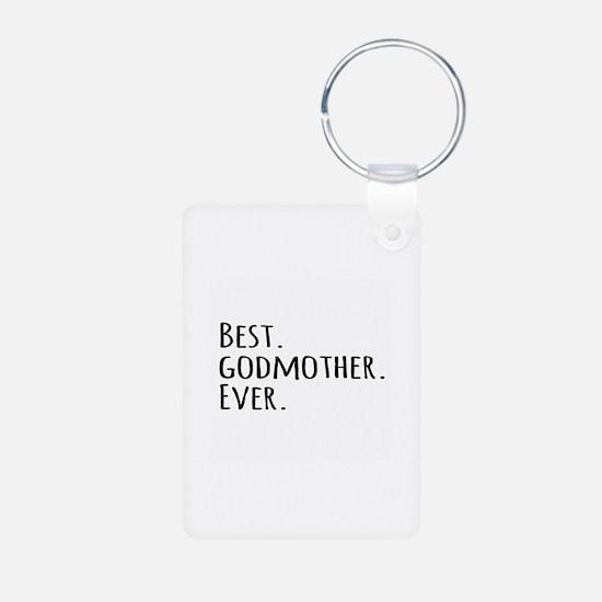 Best Godmother Ever Keychains