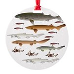 Deep Sea Sharks School 2 c Ornament