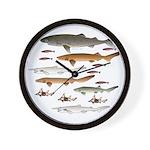 Deep Sea Sharks School 2 c Wall Clock