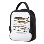 Deep Sea Sharks School 2 c Neoprene Lunch Bag