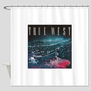 TRUE WEST Shower Curtain