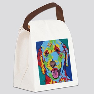 Pop Art Doodle 1 Canvas Lunch Bag