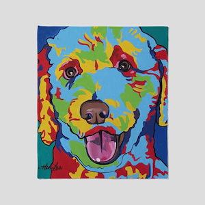 Pop Art Doodle 1 Throw Blanket