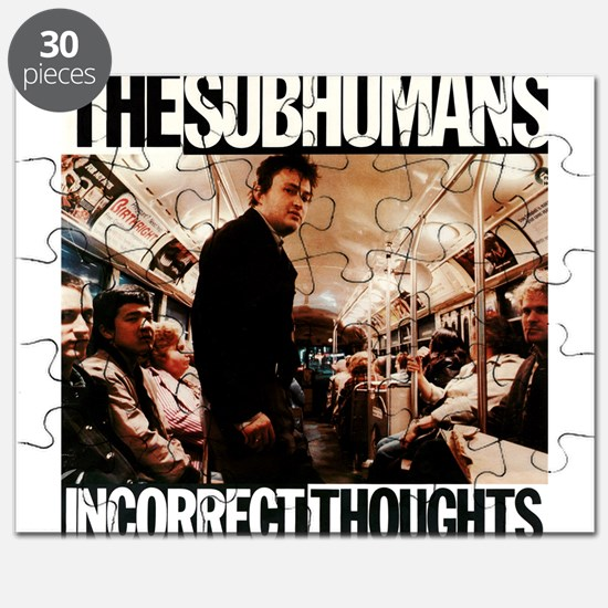 The SubHumans - Incorrect Thoughts Puzzle
