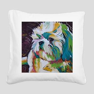 Shih Tzu - Grady Square Canvas Pillow