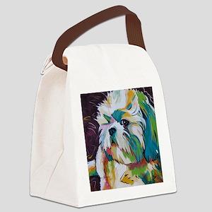 Shih Tzu - Grady Canvas Lunch Bag