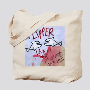 Flipper Live at the Fillmore 10-31-1981 Tote Bag