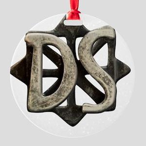 ds seal button Round Ornament