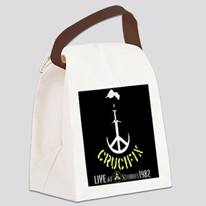 Crucifix Live at CD Studios Canvas Lunch Bag