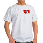 MSVFFA Logo Ash Grey T-Shirt
