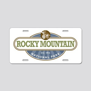 Rocky Mountain National Park Aluminum License Plat
