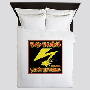 Bad Brains Live at the Fillmore 1982 Queen Duvet