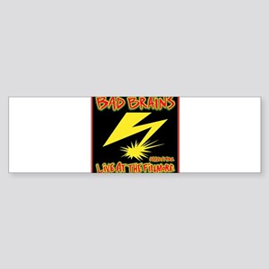 Bad Brains Live at the Fillmore 1982 Bumper Sticke