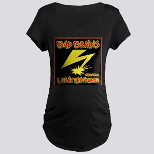 Bad Brains Live at the Fillmore 1982 Maternity T-S