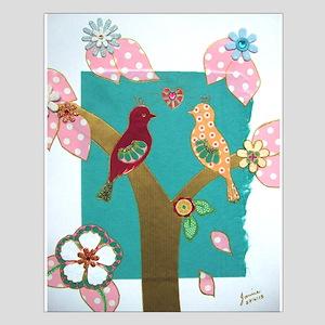 Lovebirds signed artwork Poster Design