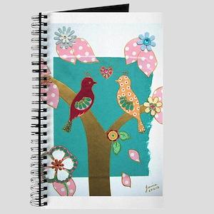 Lovebirds signed artwork Journal