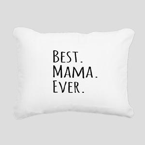 Best Mama Ever Rectangular Canvas Pillow
