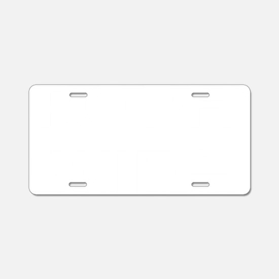 twife.gif Aluminum License Plate