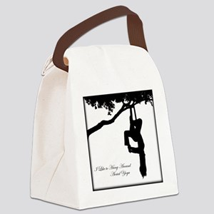 I Like to hang around Aerial Yoga Canvas Lunch Bag
