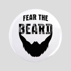 "Fear the Beard 3.5"" Button"
