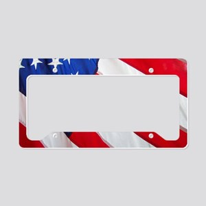 American (Made With Some Fore License Plate Holder