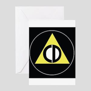 CD Presents Logo Greeting Cards