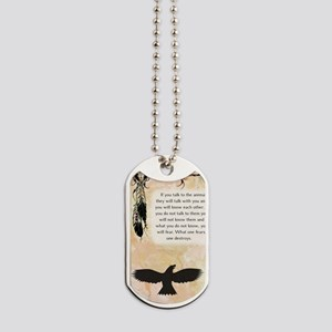 nativeamerican_journal_eagle Dog Tags