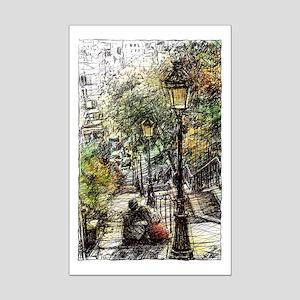 Montmartre 2 Mini Poster Print