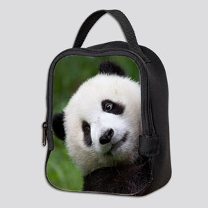 Panda Cub Neoprene Lunch Bag