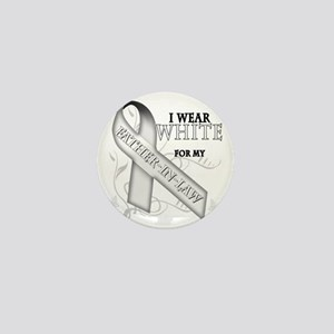 I Wear White for my Father-In-Law Mini Button