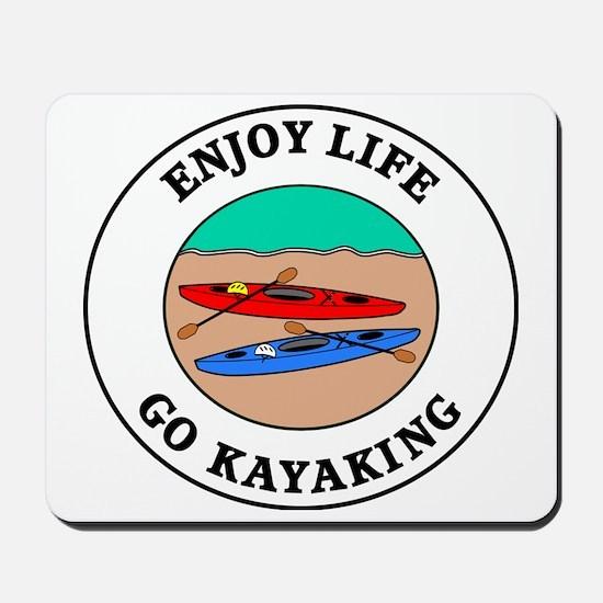 kayaking1 Mousepad