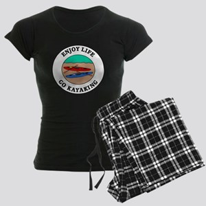 kayaking1 Women's Dark Pajamas