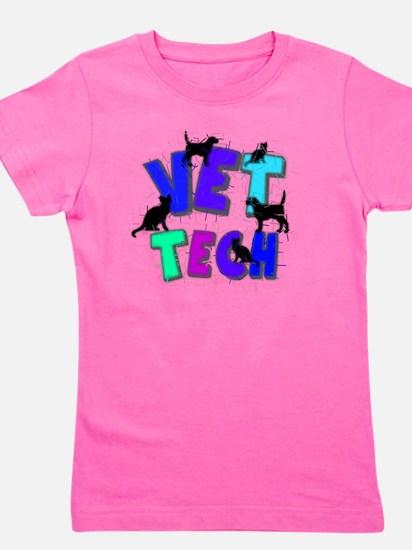 vet tech Girl's Tee