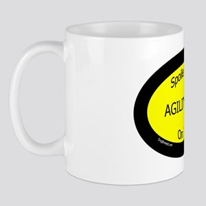 AgilityDogsSpoiledRottenOnBoard Mug